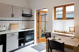 ferienwohnung trosse balkon und rack tau in der altstadt. Black Bedroom Furniture Sets. Home Design Ideas